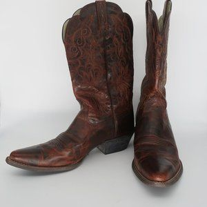 Ariat Heritage Western J-Toe Cowgirl Boots Sz 10